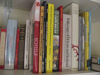 books on their new shelves!